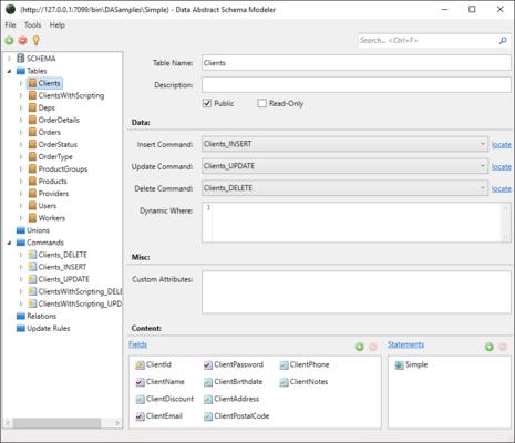 Screenshot von Data Abstract for Java