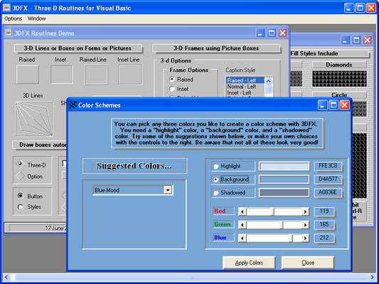 Screenshot of Crescent QuickPak