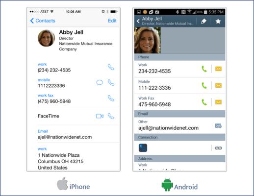 Screenshot of Kintivo Mobile Sync for SharePoint Online