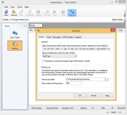 Captura de pantalla de InstantSync FTP