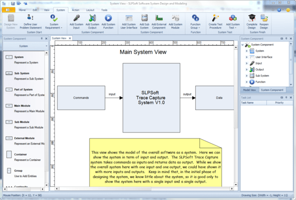 Captura de pantalla de Software System Design and Modeling