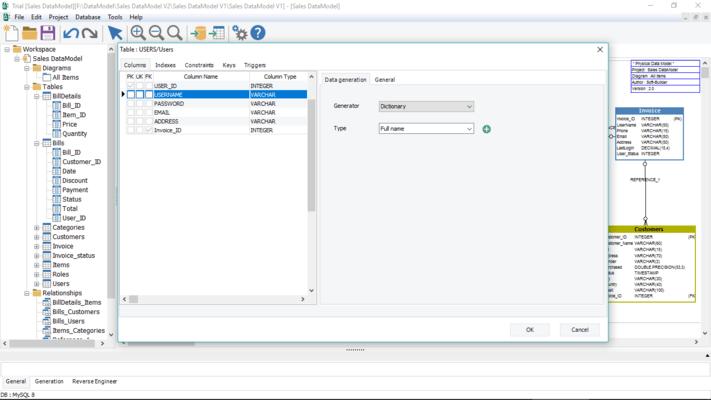 Screenshot of SB Data Generator