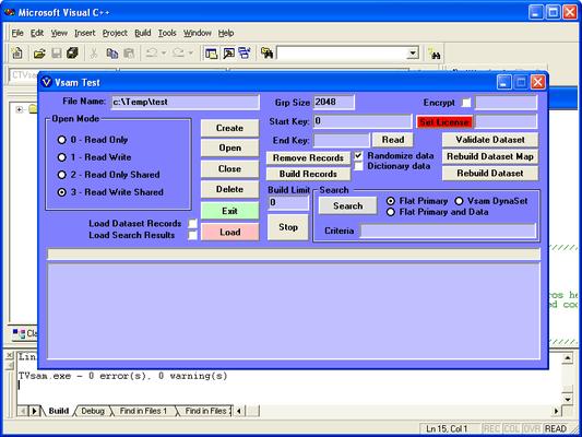 VsamEx[treme] のスクリーンショット