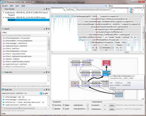 Software Diagnostics Developer Edition のスクリーンショット