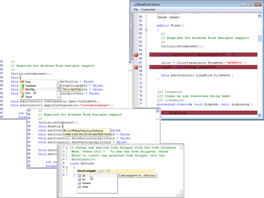 Screenshot of Syncfusion Essential Edit
