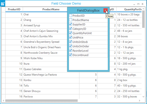 Screenshot of Syncfusion Essential Studio Windows Forms