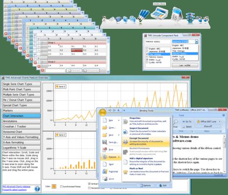 TMS Component Studio(英語版) のスクリーンショット