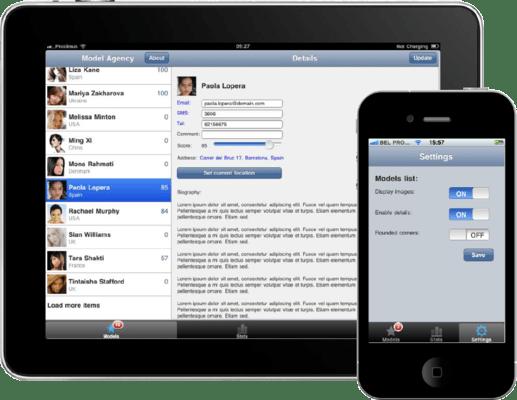 TMS IntraWeb iPhone Controls Pack(英語版) のスクリーンショット
