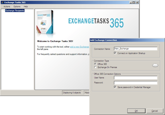 About Exchange Tasks 365