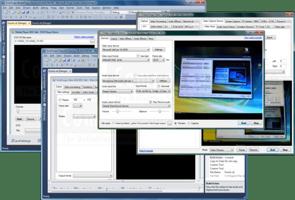 VisioForge .NET Products Bundle のスクリーンショット