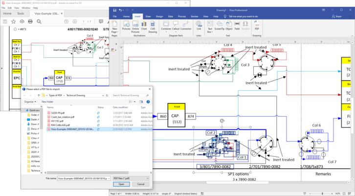 PDF Conversion SDK(英語版) のスクリーンショット