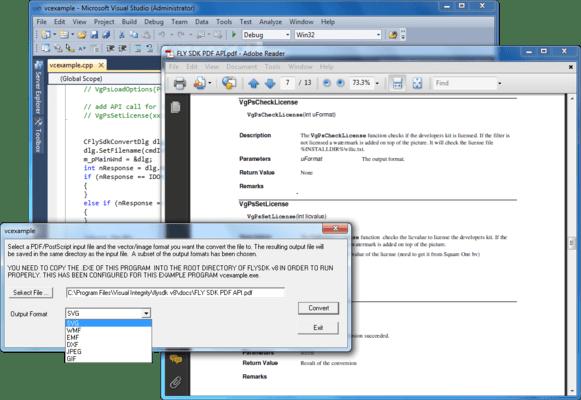 Captura de tela do PDF Creation SDK