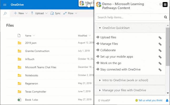 Screenshot of VisualSP Enterprise
