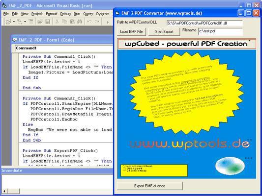 Screenshot of wPDFControl