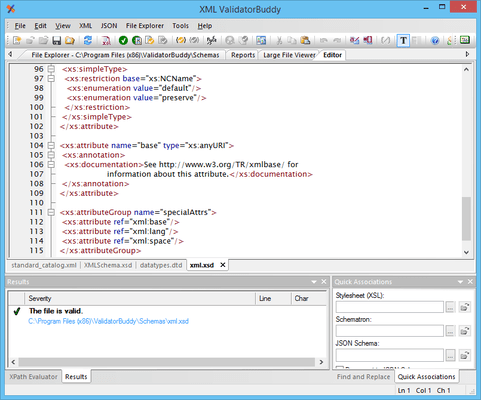 <strong>About XML ValidatorBuddy</strong><br /><br />