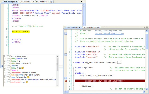 <strong>Syntax Highlighting Support</strong><br /><br />