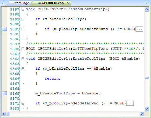 <strong>Support for Collapsible Nodes (outlining).</strong><br /><br />