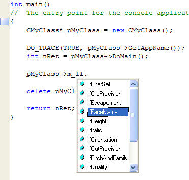 <strong>IntelliSense Support.</strong><br /><br />