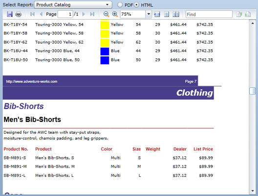 Add report viewing capabilities to your Silverlight apps.