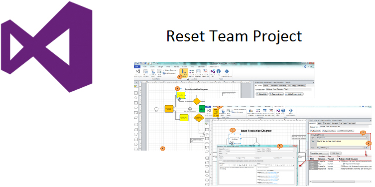 <strong>Reset Team Project Information.</strong><br /><br />
