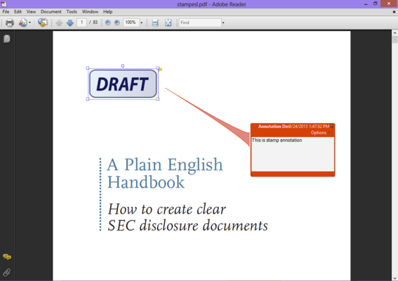 <strong>Edit, parse and process PDF documents.</strong><br /><br />