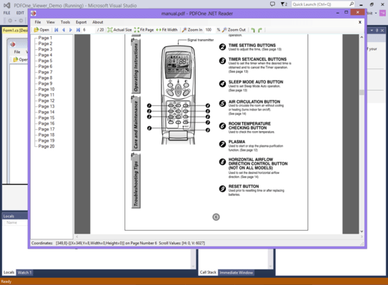 <strong>Display and print PDF documents and forms.</strong><br /><br />