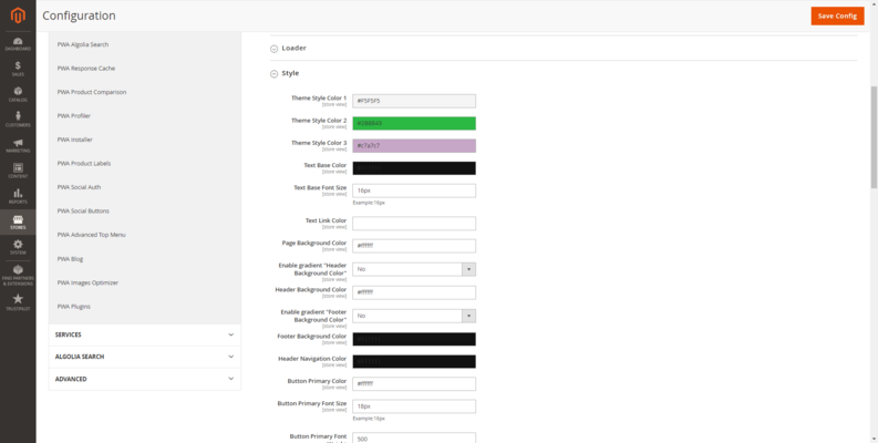 Easily customize and configure your store.