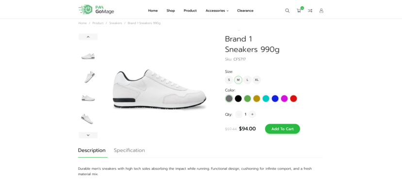 <strong>Allow customers to select product attributes to speed up selection.</strong><br /><br />