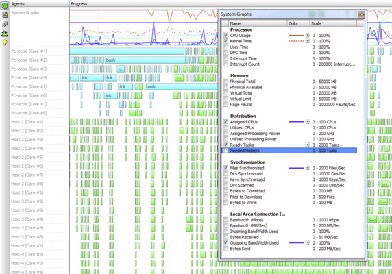<strong>Total integration with the Visual Studio dashboard.</strong><br /><br />