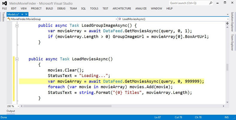 the advantage of using visual studio by microsoft At its heart, visual studio code features a lightning fast source code editor, perfect for day-to-day use with support for hundreds of languages, vs code helps you be instantly productive with syntax highlighting, bracket-matching, auto-indentation, box-selection, snippets, and more.