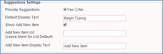 <strong>Auto-fill suggestions improve the end user experience when filling out forms.</strong><br /><br />