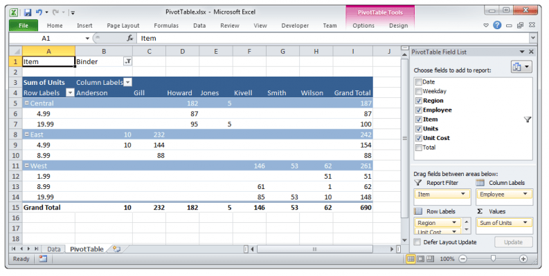 <strong>Custom integration gives run-time manipulation of pivot tables.</strong><br /><br />