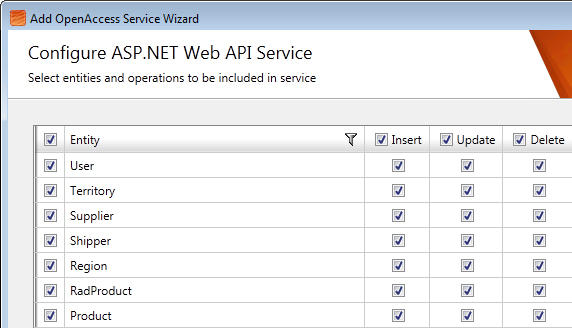 <strong>Generate ASP.NET Web API services with a click.</strong><br /><br />
