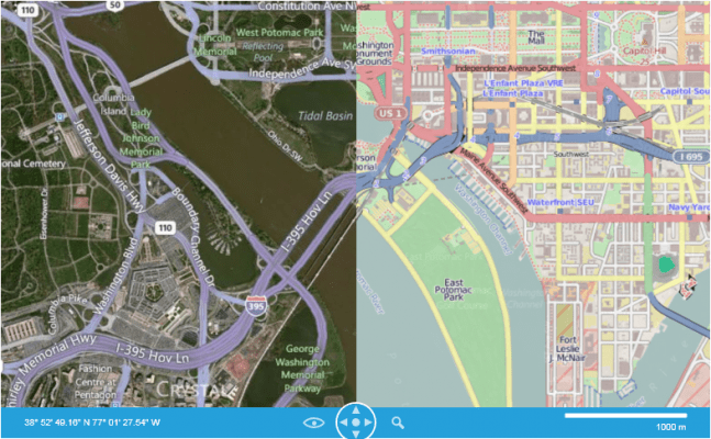 <strong>RadMap gives geographical context to large volumes of data.</strong><br /><br />