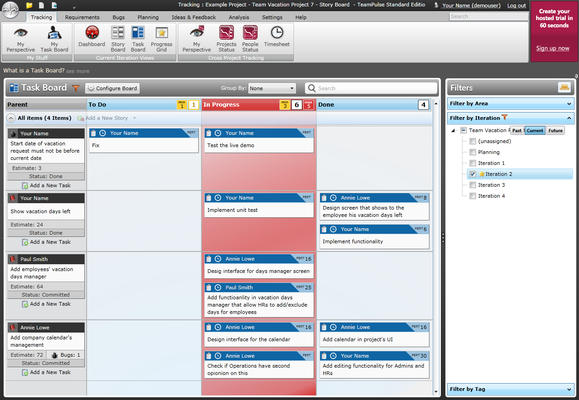<strong>Introducing WIP limits to your Story and Task Board.</strong><br /><br />