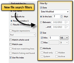 UltraFinder - Faceted Search