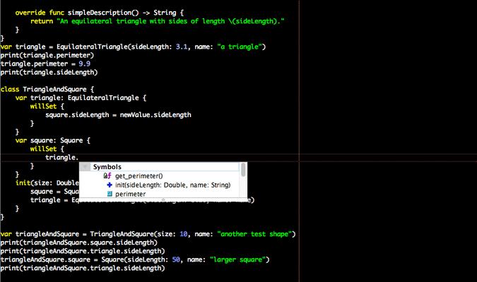 Swift Language Support