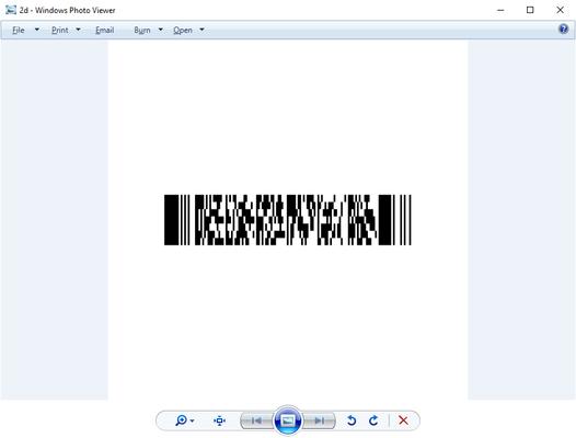 Write 2D Barcodes