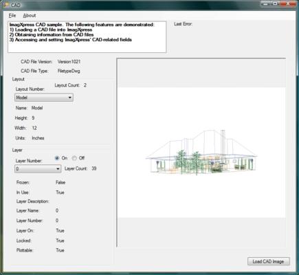 Screenshot of ImagXpress View