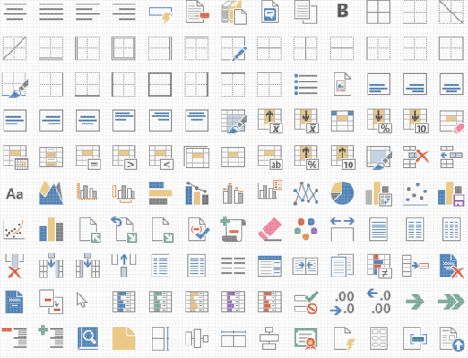 Word Processing and Spreadsheet Set