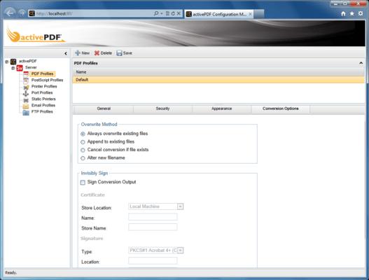Automated PDF Conversion
