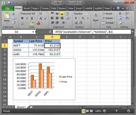 Excel RTD Server