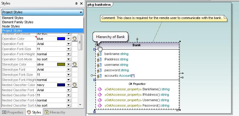 UML Modeling Features
