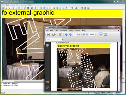 Screenshot of AH XSL Formatter V5.x Standard