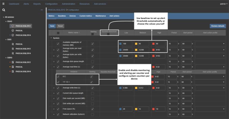 ApexSQL BI Monitor - Configuration