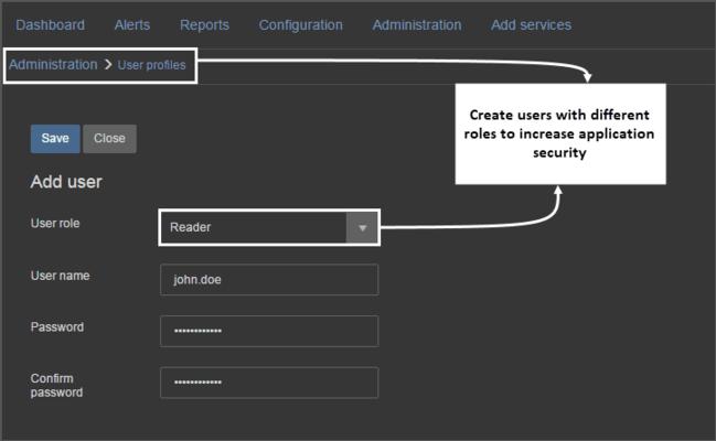 ApexSQL BI Monitor - User security