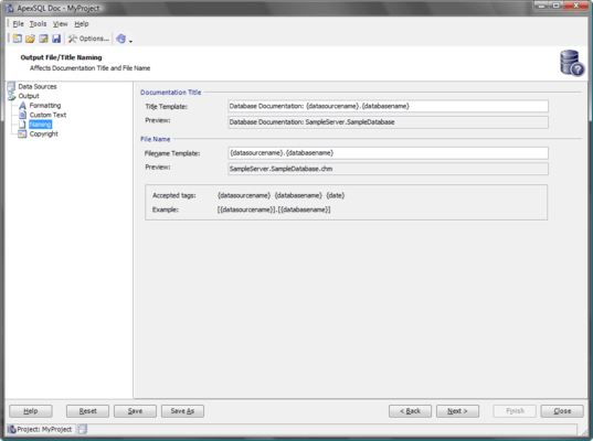 Document SQL Databases and SSIS packages