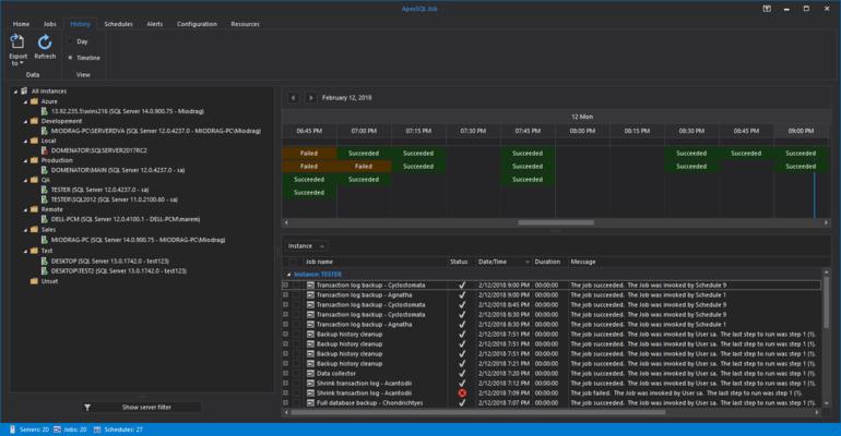 ApexSQL Job Screenshot