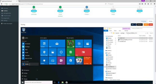<strong>Test your application safely on a Windows 10 platform.</strong><br /><em><p>Fully Windows 10 ready.</p> </em><br /><br />