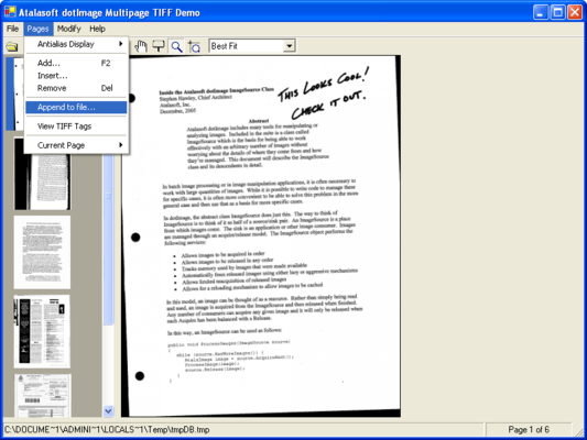how to take a screenshot of a pdf file